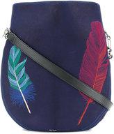 Paul Smith feather motif shoulder bag
