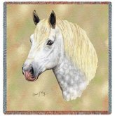 Dickens & Smyth Percheron Lap Square 2371-LS by pure country