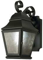 The Well Appointed House Albertus Exterior Lantern in Blackwash