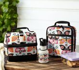 Pottery Barn Kids Mackenzie Black Butterfly Lunch Bags