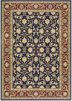 """Kenneth Mink Infinity Persian Navy/Red 3'11 x 5'3"""" Area Rug"""