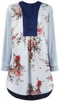 Antonio Marras contrast-bib shirt dress