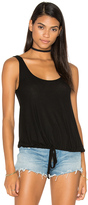 Michael Lauren Crosby Drawstring Tank