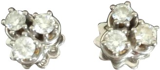Damiani Silver White gold Earrings
