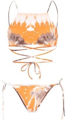 ACK Filo tie-dye bikini