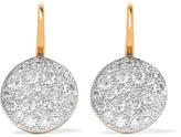 Pomellato Sabbia 18-karat Rose Gold Diamond Earrings - one size