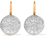 Pomellato Sabbia 18-karat Rose Gold Diamond Earrings