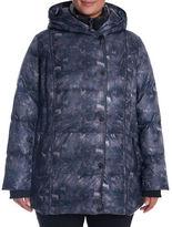 Novelti Plus Printed Down Hooded Jacket