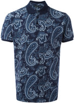 Etro paisley print polo shirt - men - Cotton - L