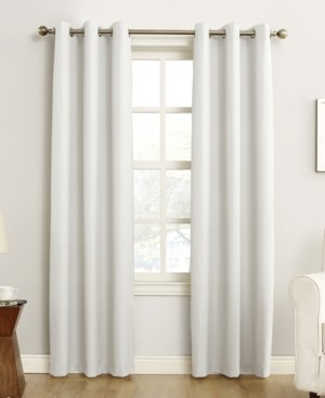 "Sun Zero Cooper 40"" x 84"" Thermal Insulated Grommet Top Curtain Panel"