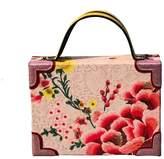 Simitri Designs - Pink Flower Dust Briefcase