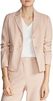 Maje Vivoine Two-Button Blazer