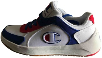 Champion White Cloth Trainers
