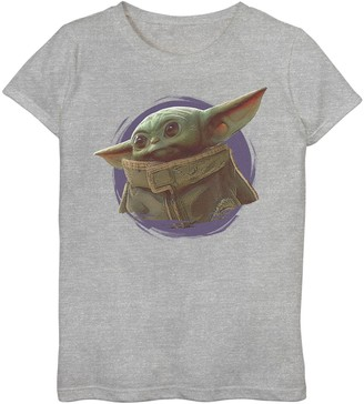 Star Wars Girls 7-16 The Mandalorian The Child aka Baby Yoda Graphic Tee