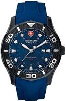 Swiss Military Hanowa Men's Oceanic 06-4170-13-003 Rubber Swiss Quartz Watch with Dial
