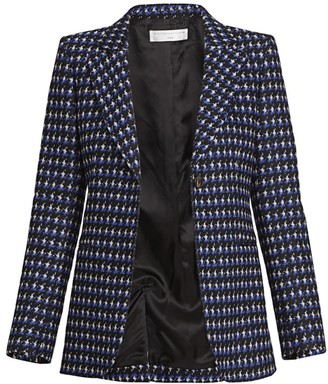 Victoria Beckham Fitted Tweed Jacket