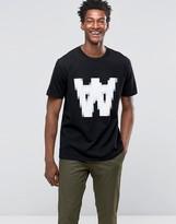 Wood Wood AA Pixel Logo T-Shirt