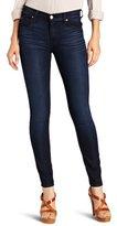 7 For All Mankind Women's Highwaist Skinny Jean in Reflective Night Star