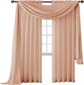 Asstd National Brand Infinity Sheer Rod-Pocket Curtain Panel