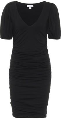 Velvet Reina stretch-cotton midi dress