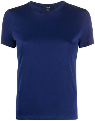 Theory plain fitted T-shirt