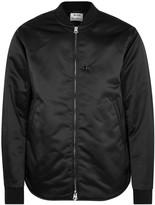 Acne Studios Black Shell Bomber Jacket