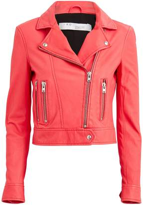 IRO Hartley Leather Moto Jacket