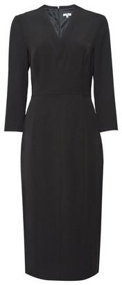Dorothy Perkins Womens **Tall Black V Neck Dress, Black
