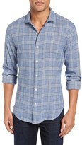 Bonobos Men's Slim Fit Plaid Woven Sport Shirt