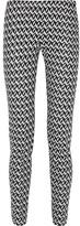 Missoni Crochet-knit Slim-leg Pants - Black