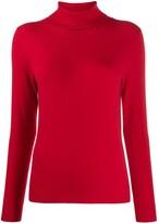 N.Peal roll neck fine knit jumper