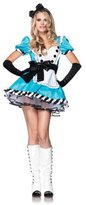 Leg Avenue Women's 2 Piece Charming Alice Costume