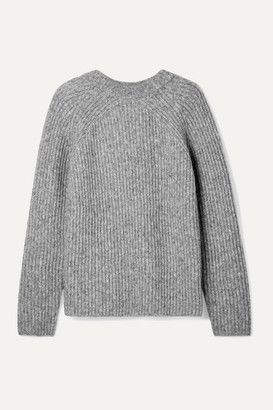 Helmut Lang Ghost Ribbed-knit Sweater - Gray