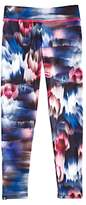 Onzie Girls' Blurred-Flower-Print Leggings - Big Kid, Little Kid