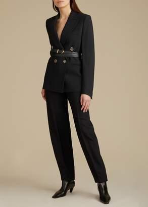 KHAITE The Emma Pant in Black