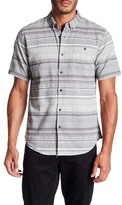 Ezekiel Beechwood Short Sleeve Graphic Striped Print Shirt