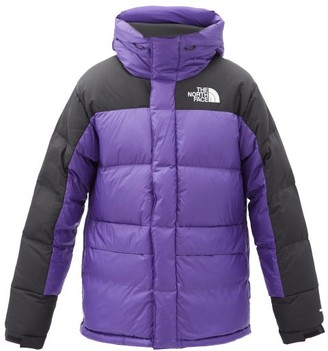 The North Face Himalayan Hooded Quilted Down Coat - Purple