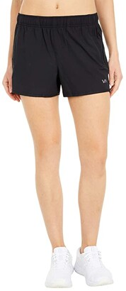 RVCA Yogger Stretch Shorts (Black) Women's Shorts