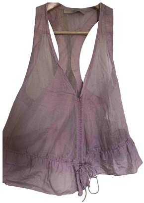 Stella McCartney Stella Mc Cartney Purple Cotton Top for Women