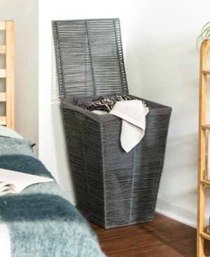 Honey-Can-Do Coastal Collection Laundry Hamper