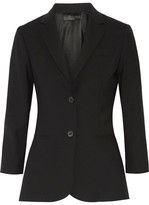 The Row Schoolboy Stretch Wool-blend Blazer - Black
