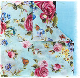 Dolce & Gabbana floral scarf - women - Cotton - One Size