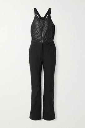 Bogner Fire & Ice Ivie-t Ponte-trimmed Ski Suit - Black