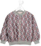 Anne Kurris - Pilot Birds bomber jacket - kids - Cotton/Polyamide/Polyester/Acetate - 6 yrs