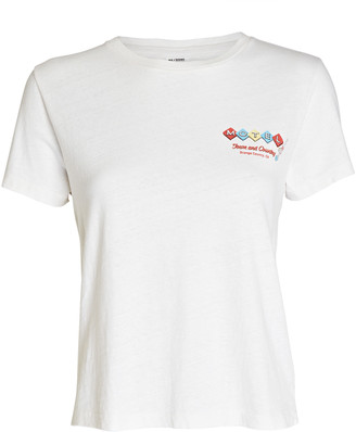 RE/DONE Motel Graphic Classic T-Shirt