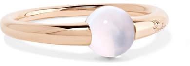 Pomellato M'ama Non M'ama 18-karat Rose Gold Moonstone Ring
