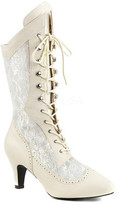 Women's Pleaser Pink Label Divine 1050 Lace-Up Boot