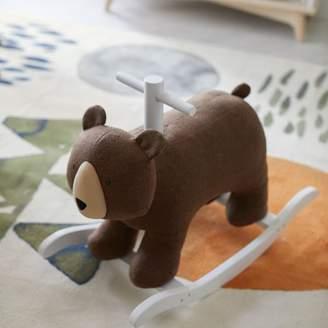 west elm Felt Nursery Rocker - Bear