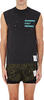 Satisfy Men's Distressed Cotton Muscle Tank