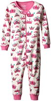 Hatley Sleepy Romper (Baby) - Pretty Crowns-6-12 Months